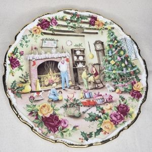 Christmas warmth by fred erril plate